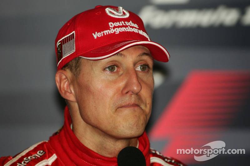 Pressekonferenz: 1. Michael Schumacher