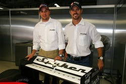 Conférence de presse Spyker MF1 Racing : Christijan Albers et Tiago Monteiro