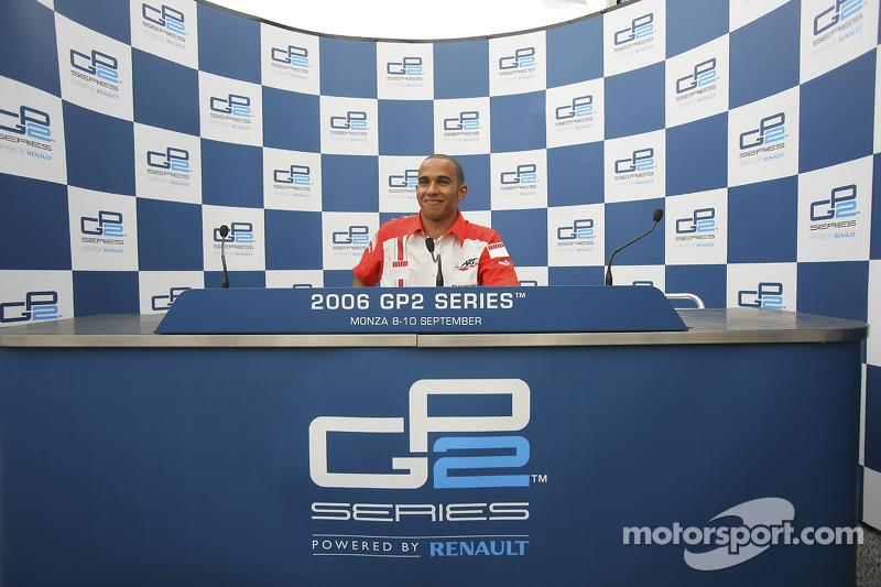 Conferencia de prensa: GP2 Series campeón Lewis Hamilton