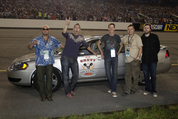 Barenaked Ladies with Chevy pace cars