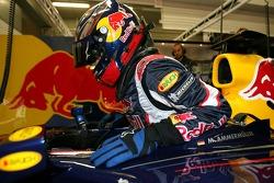 Michael Ammermueller in the garage