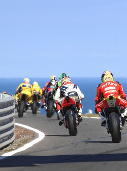 Riders head to track