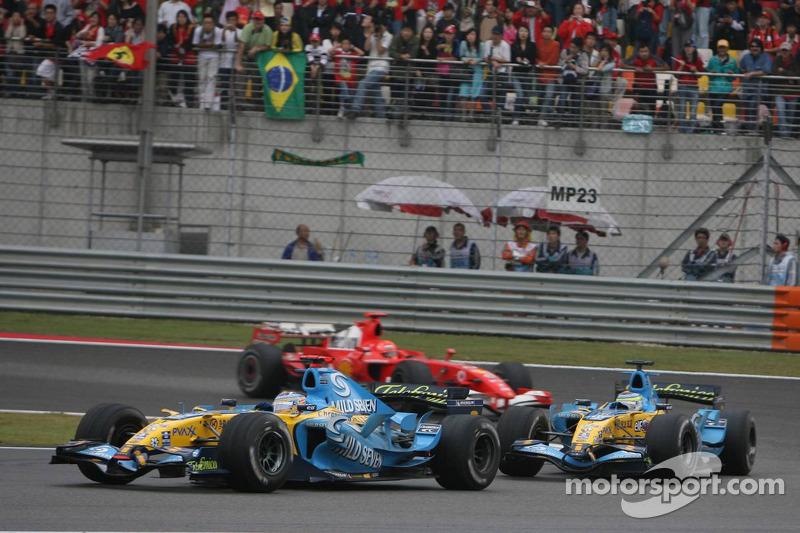 2006. Нові шини проти старих