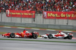 Felipe Massa leads Ralf Schumacher