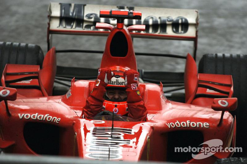 22º Michael Schumacher - 13 corridas - De San Marino 2006 até China 2006 - Ferrari