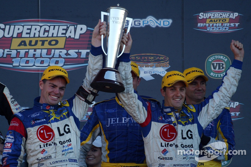 A fitting winner for the first Peter Brock Trophy