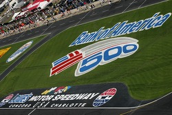 Bank of America 500 signage
