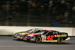 Casey Mears and Kevin Harvick battle