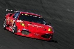 #62 Risi Competizione Ferrari 430 GT Berlinetta: Jaime Melo, Mika Salo