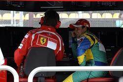 Rob Smedley and Felipe Massa