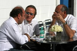 Ron Dennis and Mansour Ojeh