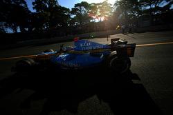 2006 F1 World Champion Fernando Alonso celebrates