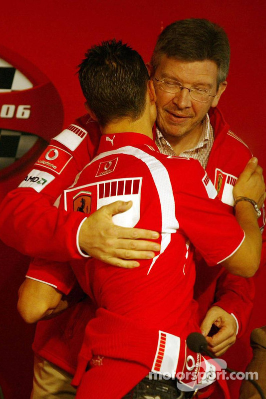 Conferencia de prensa: Michael Schumacher y Ross Brawn