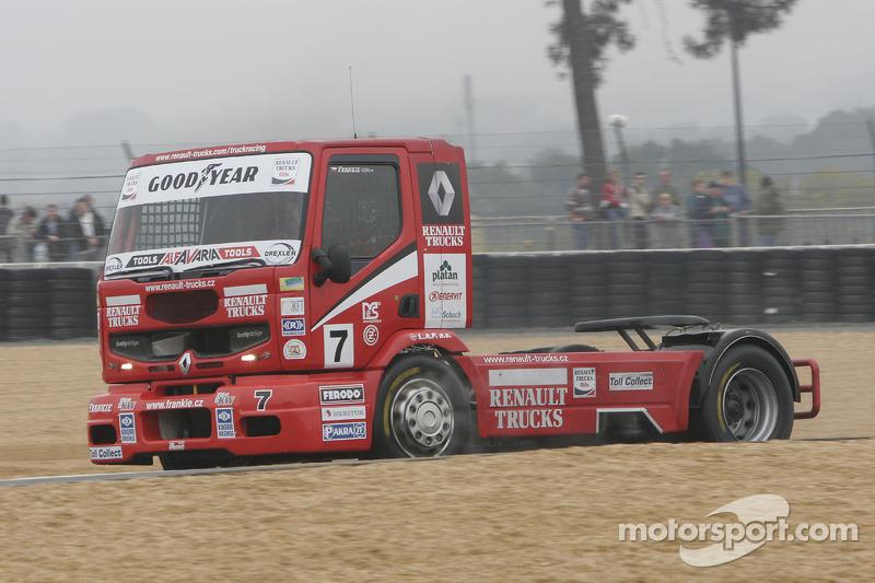 Frankie Vojtisek Renault n°7 : Frankie Vojtisek
