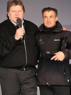 Norbert Haug et Jean Alesi