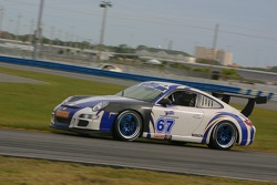 #67 TRG Porsche GT3 Cup: Brent Milner, John Peterson, Michael Gomez