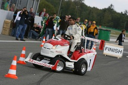 PR event day, Mountfield Cup on Tractors: Nur Ali