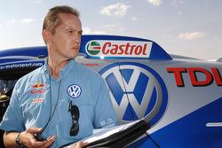 Volkswagen Motorsport technical director Eduard Weidl