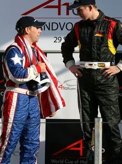 Phil Giebler and Nico Hulkenberg