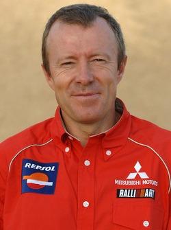 Team Repsol Mitsubishi Ralliart presentation in Morocco: technical director Thierry Viardot