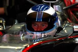 Mika Hakkinen, test driver for McLaren Mercedes