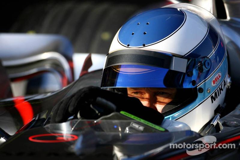 Mika Hakkinen, pilote d'essais McLaren Mercedes