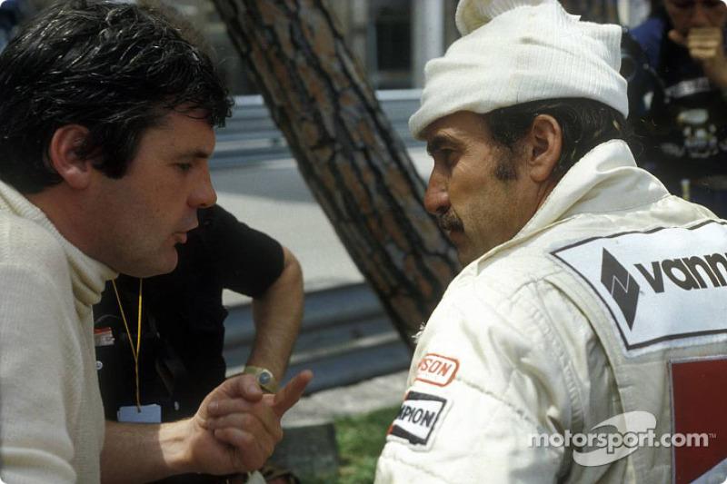 Alan Jones et Clay Regazzoni, à Monaco en 1979