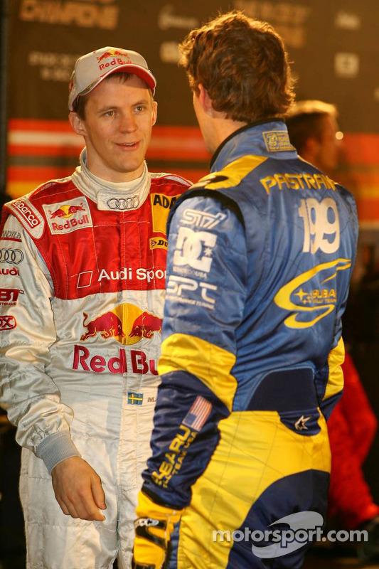 Mattias Ekström and Travis Pastrana