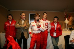 Team Citroën with Daniel Elena, Guy Fréquelin, Sébastien Loeb, Daniel Sordo and Marc Marti