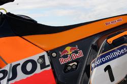 Team Rally Repsol KTM: detail of the 690 Rally Repsol KTM