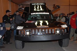 USA Team Gordon Hummer H3 of Robby Gordon and  Andy Grider