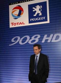 Pressekonferenz: Serge Saulnier