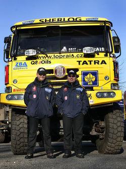 Loprais Tatra Team: Ales Loprais and Petr Gilar