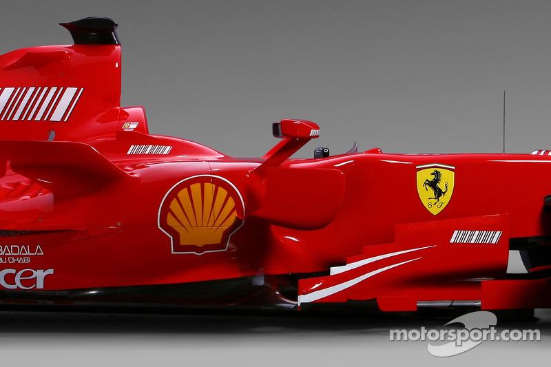 Detalle del Ferrari F2007