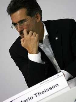 Dr. Mario Theissen, BMW Motorsport Director