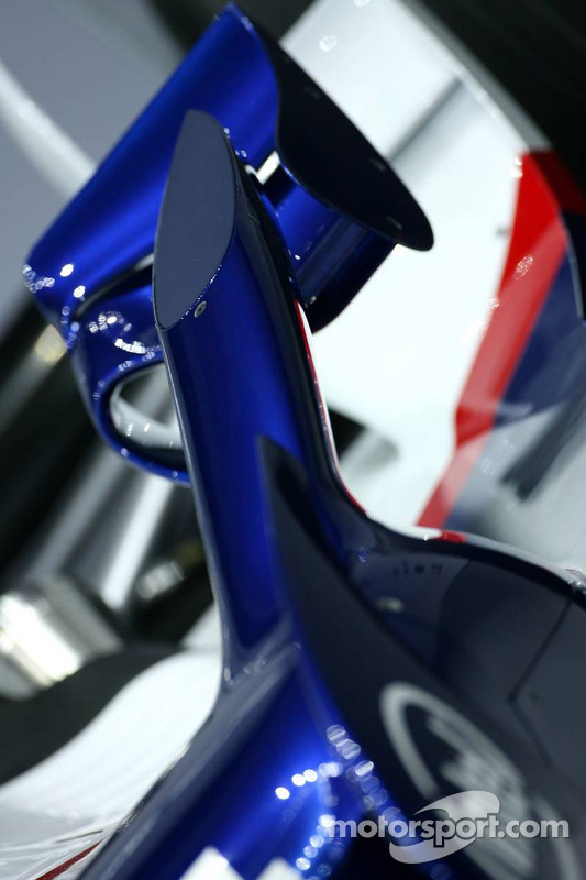 BMW Sauber F1.07: Flaps