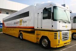 Renault F1 Team transporters