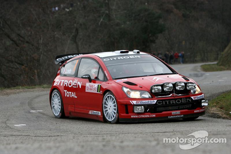 2007 - Quatrième victoire de Loeb : Citroën C4 WRC