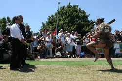 A Maori welcome for Pete da Silva, Chief Executive Officer