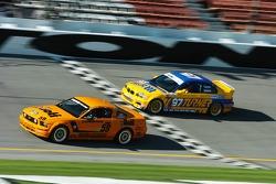#59 Rehagen Racing Mustang GT: Dean Martin, Ray Mason and #97 Turner Motorsport BMW M3: Will Turner, Don Salama