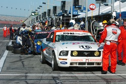 #16 Champion Motorsports Mustang GT: Ian Lacy, BJ Zacharias