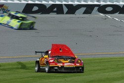Trouble for the #42 Team Sahlen Porsche GT3 Cup: Michael Auriemma, John Mayes, David Kaemmer, Chris Wilcox, Matt Varsha