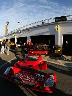 Gainsco Bob Stallings Racing garage area
