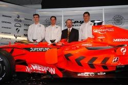 James Key; Christijan Albers; Marc Gene; Adrian Sutil, Spyker-Ferrari