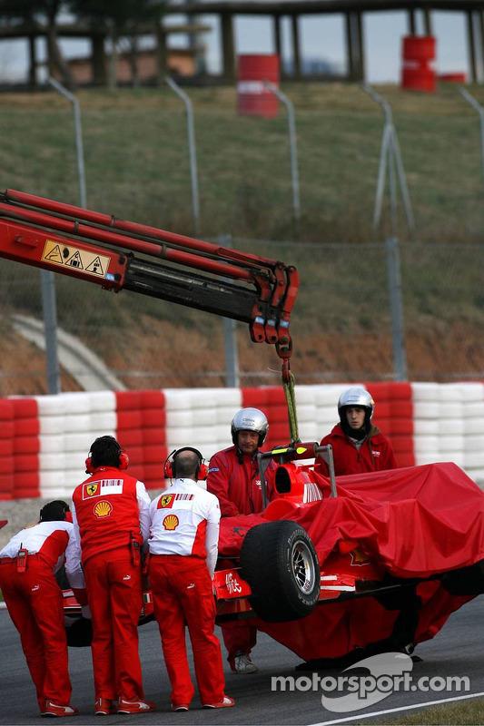 Zwischenfall: Felipe Massa, F2007