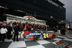 Victory lane: overall view