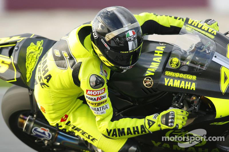 Tes Qatar 2007 - Yamaha Factory Racing