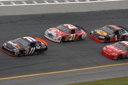 Denny Hamlin, Kenny Schrader, Dale Earnhardt Jr., Martin Truex Jr.