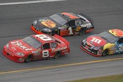 Dale Earnhardt Jr., David Gilliland, Martin Truex Jr.