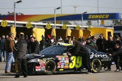 The Ginn Clubs and Resorts Chevy at tech inspection